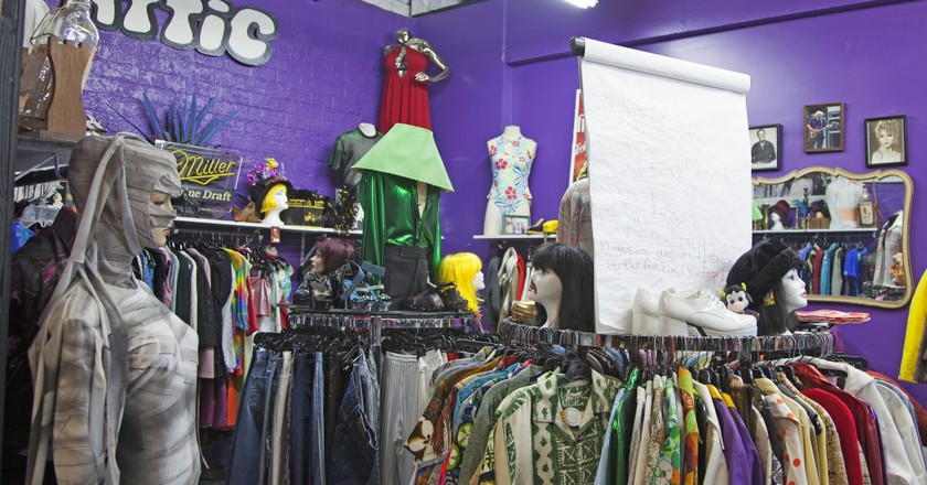 The Attic Vintage Clothing Co.| ©Travel Nevada/Flickr