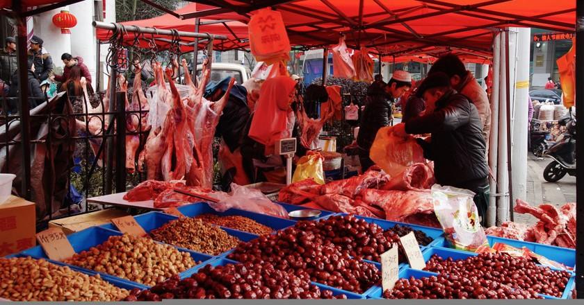 Muslim Market in Shanghai | © Mathias Apitz (München)/Flickr