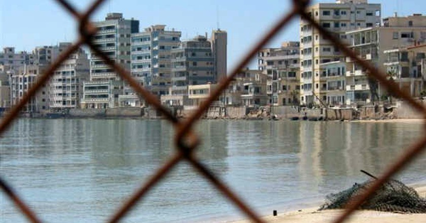The ghost town of Varosha, Cyrpus | Courtesy of Sometimes Interesting