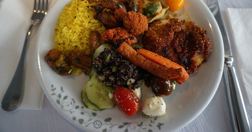 Veggie meal   © Kristina Hoeppner/Flickr