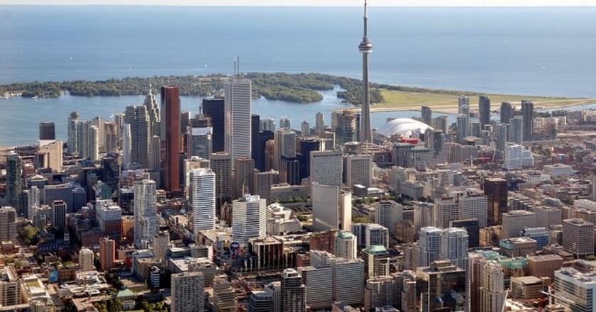 Toronto skyline | © Taxiarchos228 / WikiCommons