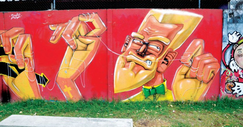Street art by Marcelo Eco |© Alexandre Macieira/Riotur/Flickr