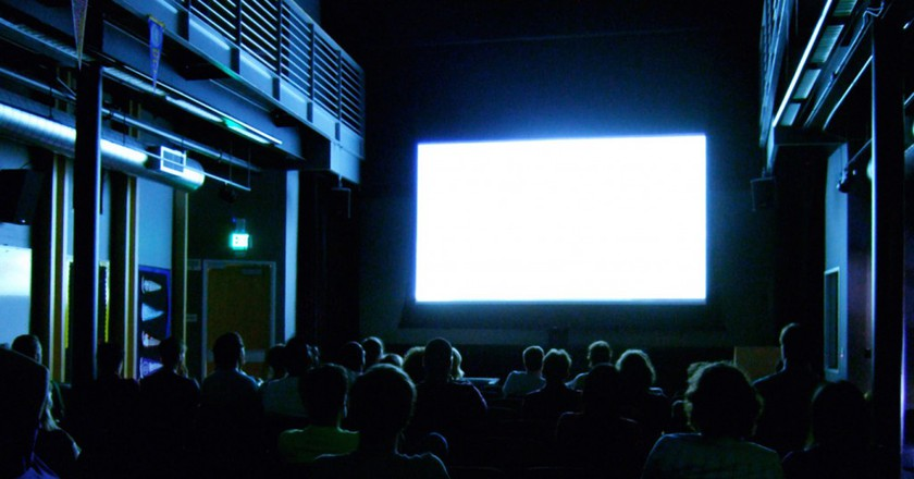 The silver screen | ©  Kenneth Lu / Flickr