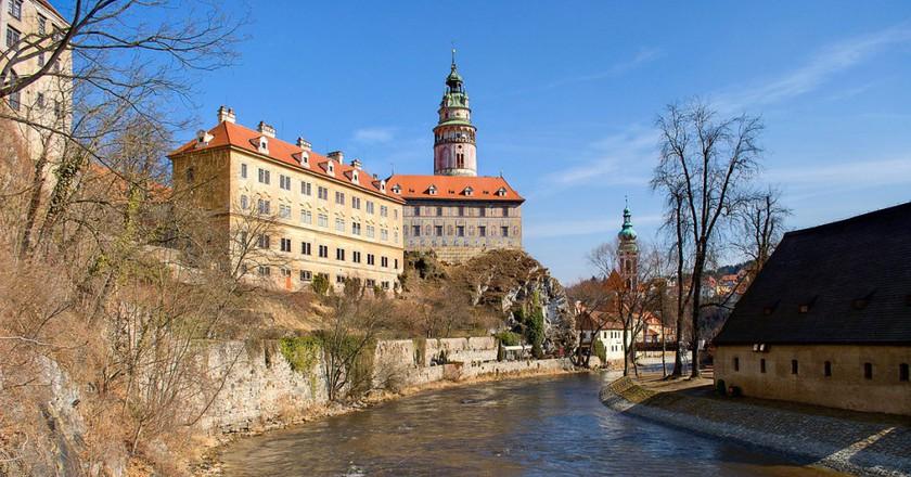 Castle on the Vltava River  | ©Mihael Grmek   / Wikimedia Commons