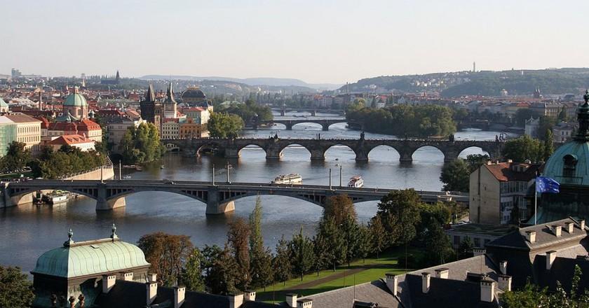 Bridges over the River Vltava    © Che  / Wikimedia Commons