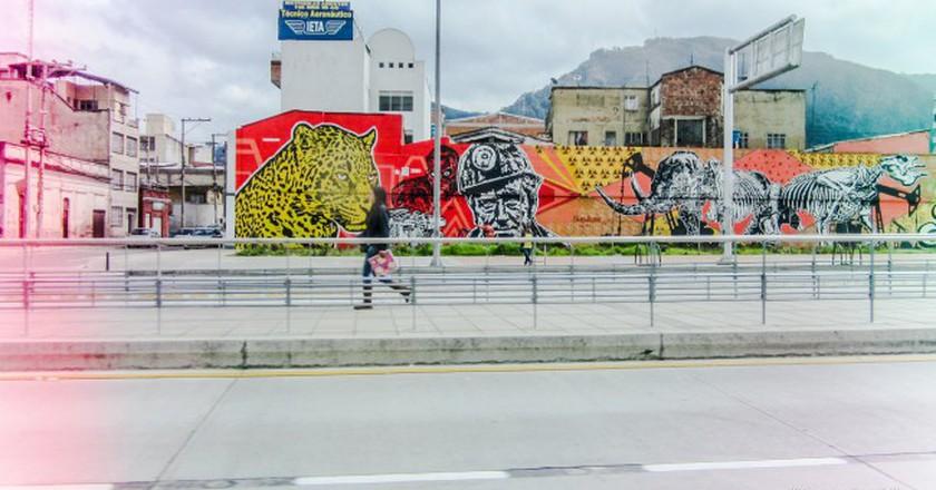 "<a href=""https://www.flickr.com/photos/janafalk/12094250364/"">Street Art in Bogota, Colombia © Janaina C. Falkiewicz / Flickr </a>"