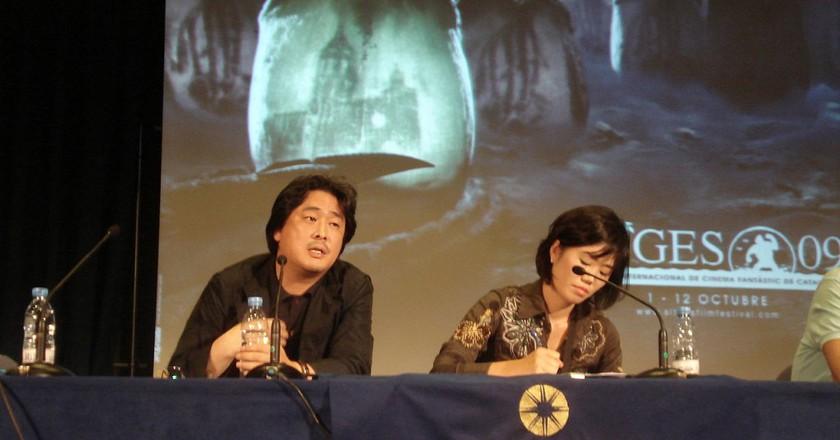Park Chan-wook at the Festival Internacional de Cinema de Catalunya 2009 | © Baggio