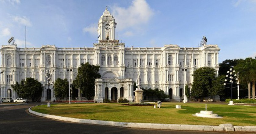 The Ripon Building, Chennai |  © Planemad / WikiCommons