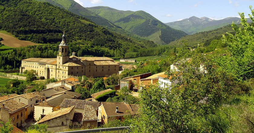 Valle de San Millán, Basque Country, Spain   © Cenobio / Wikimedia Commons