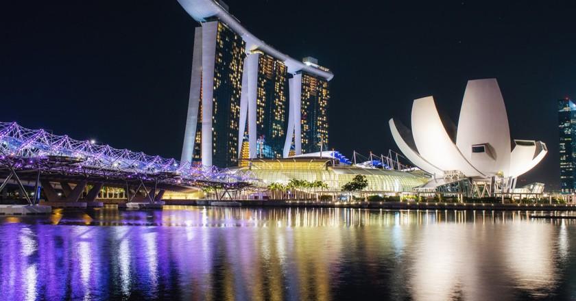 Singapore, Marina Bay | ©Leonid Yaitskiy / Flickr