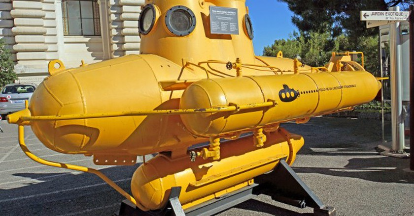Submarine at the Oceanographic Museum | © Dennis Jarvis/Flickr