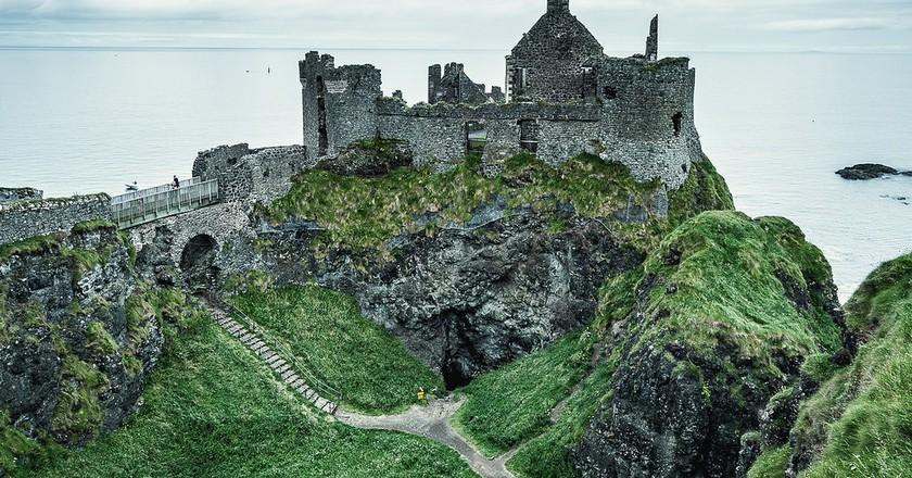 Dunluce Castle | © Michał Huniewicz / Flickr