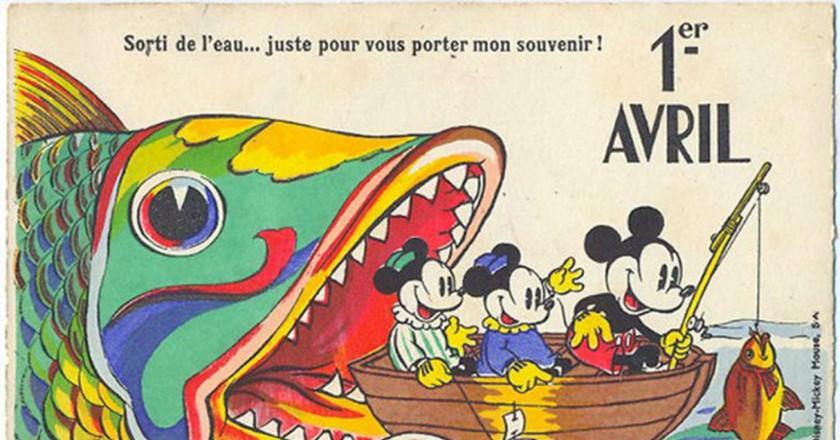 French April Fools' Postcard | © wacky stuff / Flickr