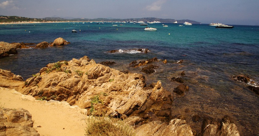Take a half-day walk along the wild and rugged beaches of St Tropez   © karrikas/flickr