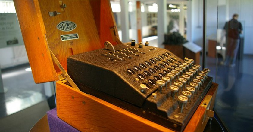 The Enigma Machine at Bletchley Park   © Tim Gage / Flickr