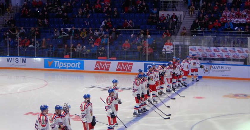 Czech National ice hockey team | ©Chan-Fan / Wikimedia Commons
