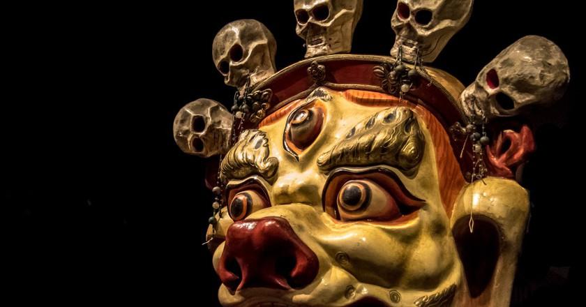 Mask: Sendom (Mongolia) | © Andrew Moore / Flickr