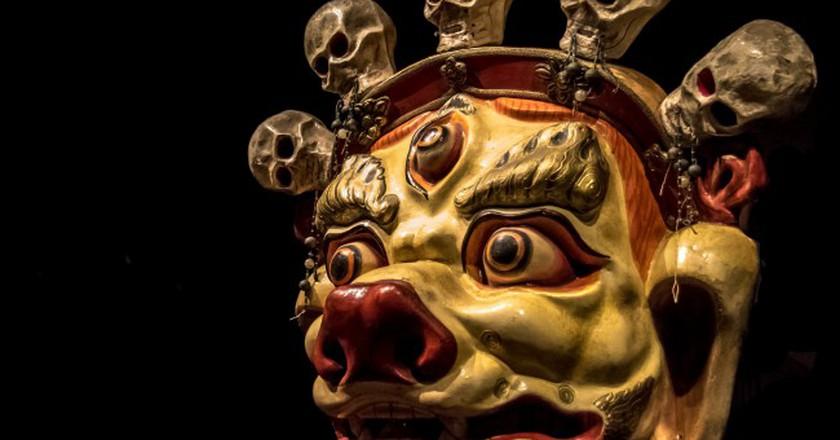 Mask: Sendom (Mongolia)   © Andrew Moore / Flickr