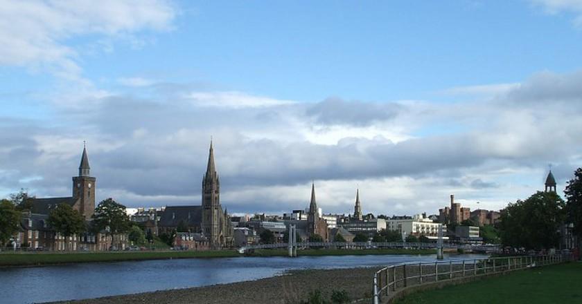 Inverness Spires   © Dave Conner/Flickr