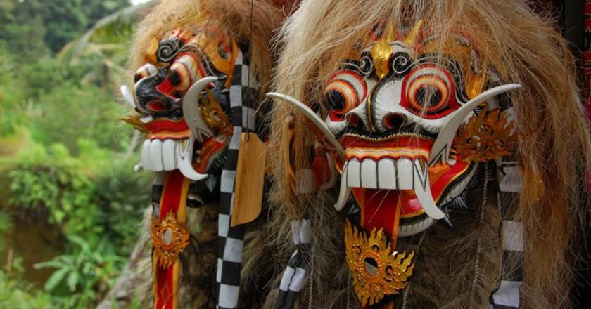 Wooden Barong Mask   © Rollan Budi / Flickr