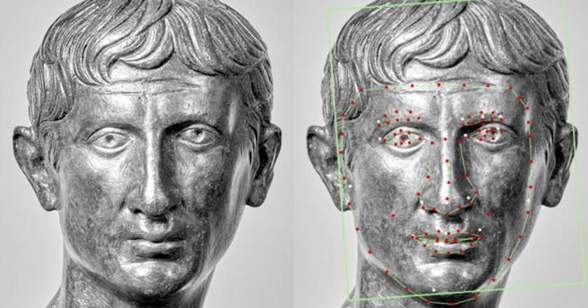 Bust of the emperor Augustus Fondation Gandur pour l'Art, Geneva | Courtesy of Musée de la Civilisation