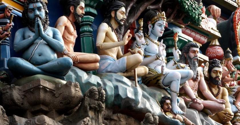 Kapaleeswarar Temple Gopuram |©  Simply CVR / Flickr