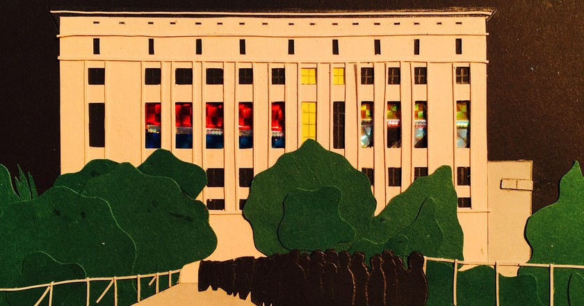 An artists representation of the iconic Berghain club © Michael Mayer/Flickr