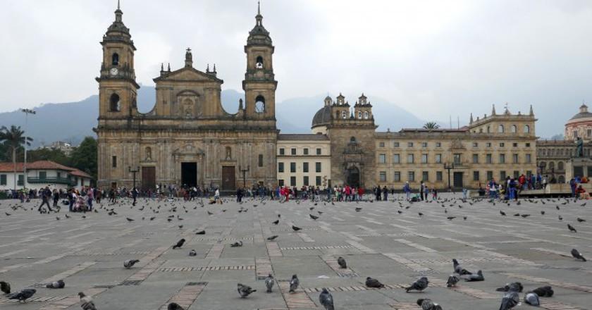 Plaza Bolivar, Bogotá, Colombia | © Leah Jones/Flickr