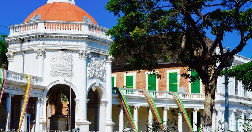 Rodney Memorial, Spanish Town, Jamaica  | © CaribbeanCables/Flickr