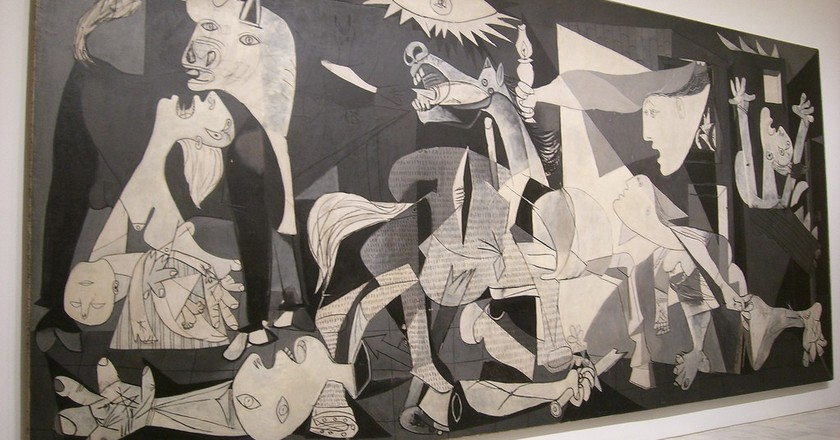Guernica by Pablo Picasso   © Peter Collins / Flickr