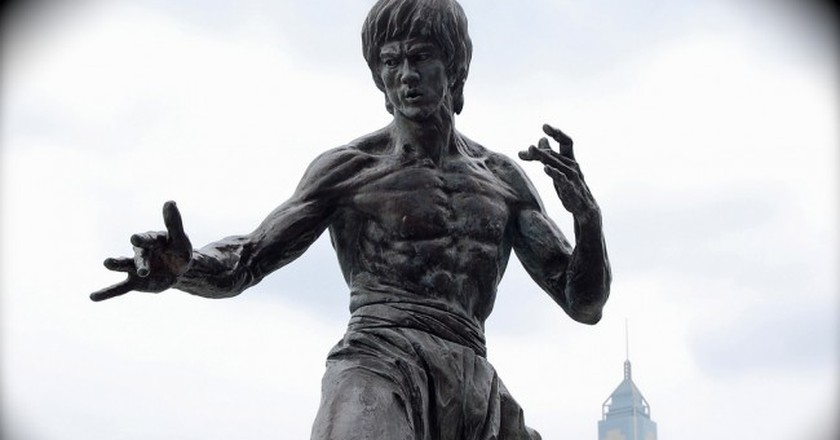 A Bruce Lee statue in Hong Kong   Sherpas 428/Flickr