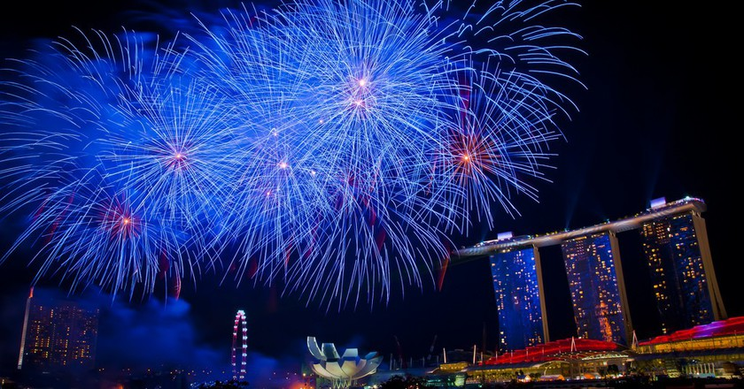 National Day Fireworks | © Zhao ! /Flickr