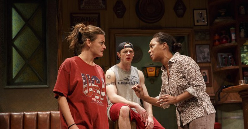 Theater: 'Sweat' Turns to Blood in Simmering Blue Collar Drama at Studio 54