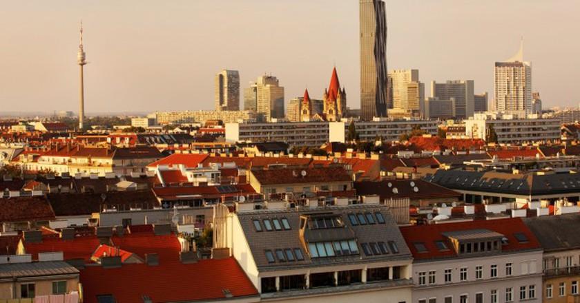Donau City@ WienTourismus/Peter Rigaud