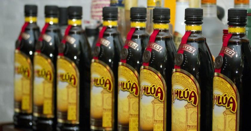 Kahlúa bottles   © alyssalaurel/Flickr