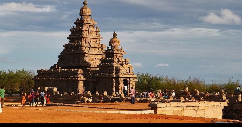 Shore Temple, Mahabalipuram    ©  J'ram DJ / Flickr-cropped