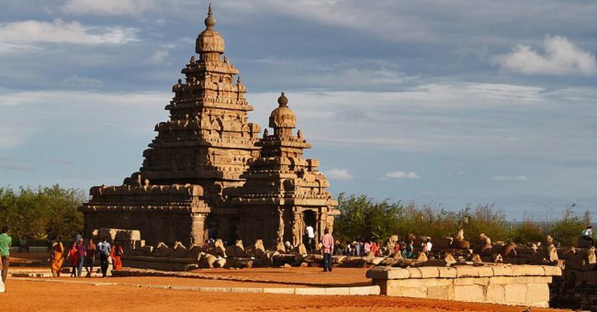 Shore Temple, Mahabalipuram |  ©  J'ram DJ / Flickr-cropped