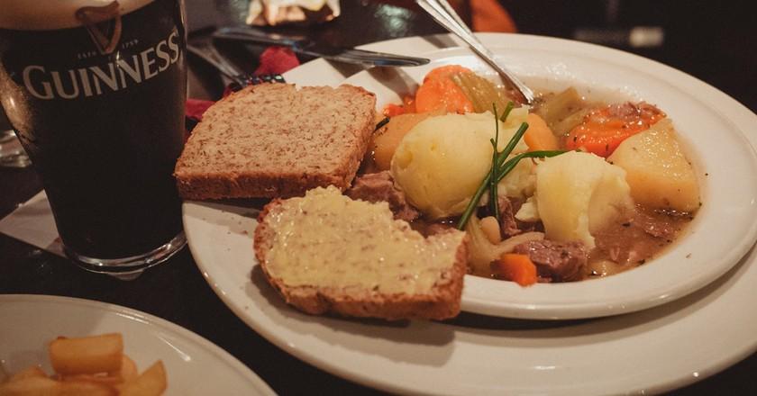 Irish Stew and Guinness | © daspunkt / Flickr