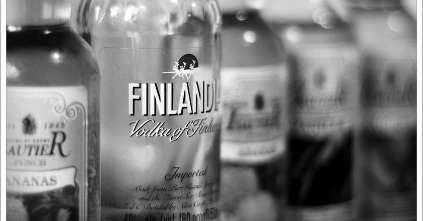 Bottles of Finnish vodka | © Vicente Villamón/Flickr