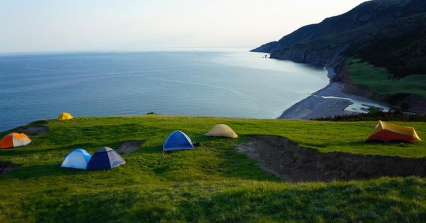 Camping in Cape Breton National Park, Nova Scotia | © Nicole Bratt / Flickr
