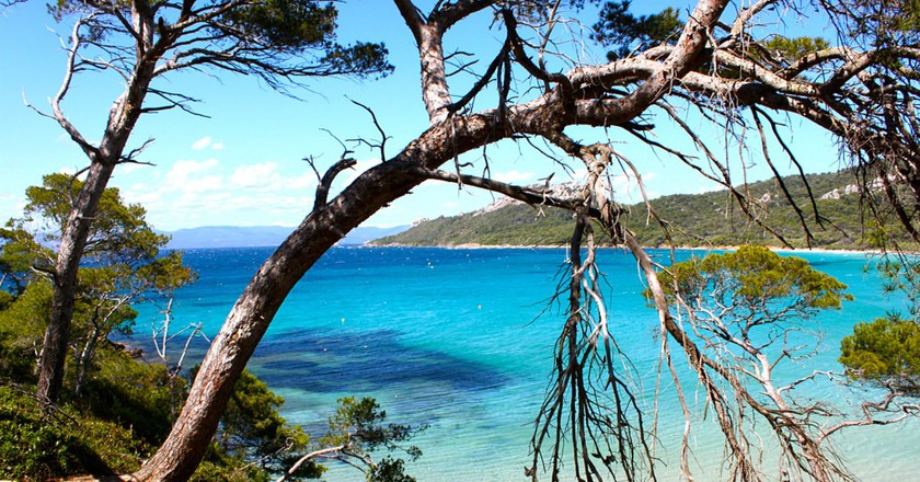"""Take a trip to the beautiful island of Porquerolles, """"Notre Dame"""" 