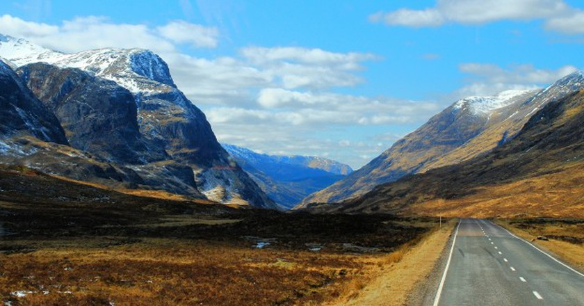 Glencoe Coach View | © Richard Szwejkowski/Flickr