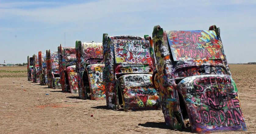 Cadillac Ranch | © scott1346 / Flickr