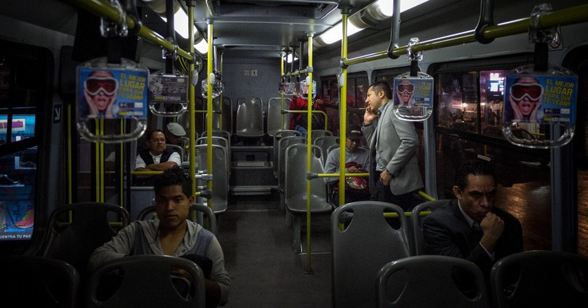A pleasingly empty bus in Mexico City | © Eneas de Troya/Flickr