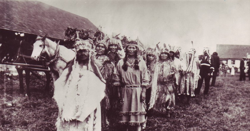Chehalis First Nations in early 20th century   © Unknown / WikiCommons
