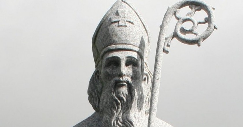 Statue of St. Patrick, County Mayo   © Andreas F. Borchert / WikiCommons