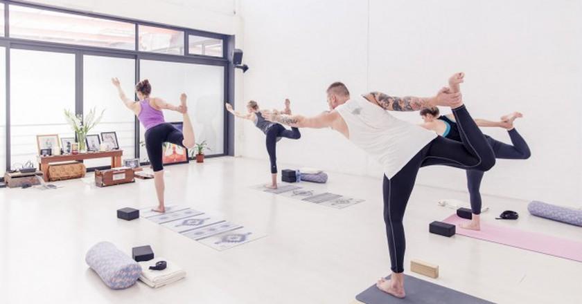 Air Yoga studio, Cape Town   © Laura Vanselow, courtesy of Air Yoga