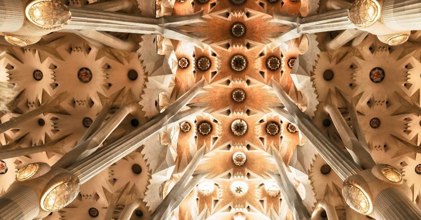 Inside the Sagrada Família| © stokpic/Picabay