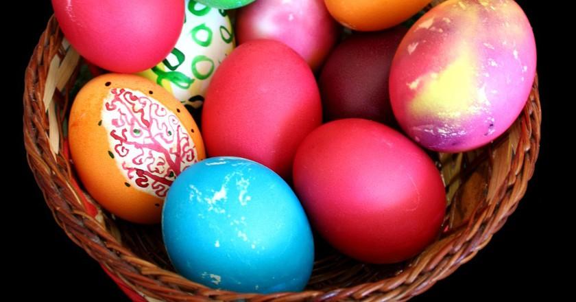 Painted Easter eggs | © Ikonact/WikiCommons