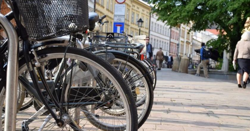 Bikes in Krakow | © JRF